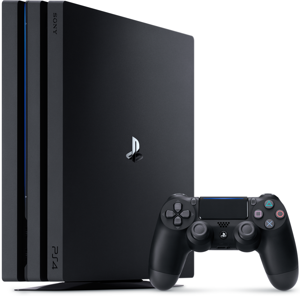 SONY PlayStation 4 Pro 1TB Black, картинка 1