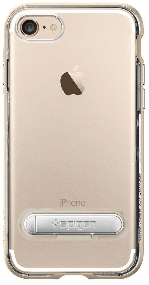 SGP Чехол iPhone 7 Crystal Hybrid Champagne Gold, картинка 3