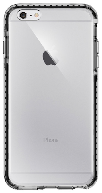SGP iPhone 6S Ultra Hybrid Tech - Crystal Black