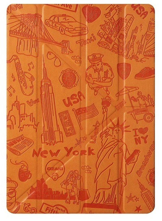 OZAKI O!Coat Travel iPad Pro 9.7 New York (Orange)