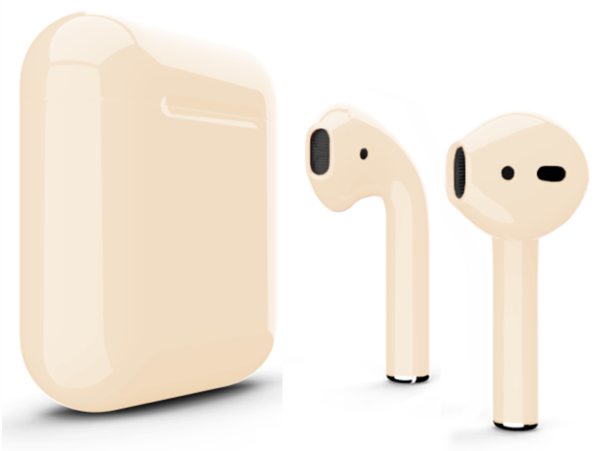 Наушники Apple AirPods (MMEF2ZA/A) Jet Gold, картинка 2