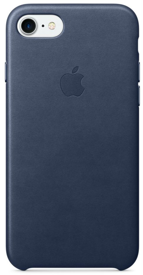 Apple iPhone 7 Leather Case Midnight Blue, картинка 1
