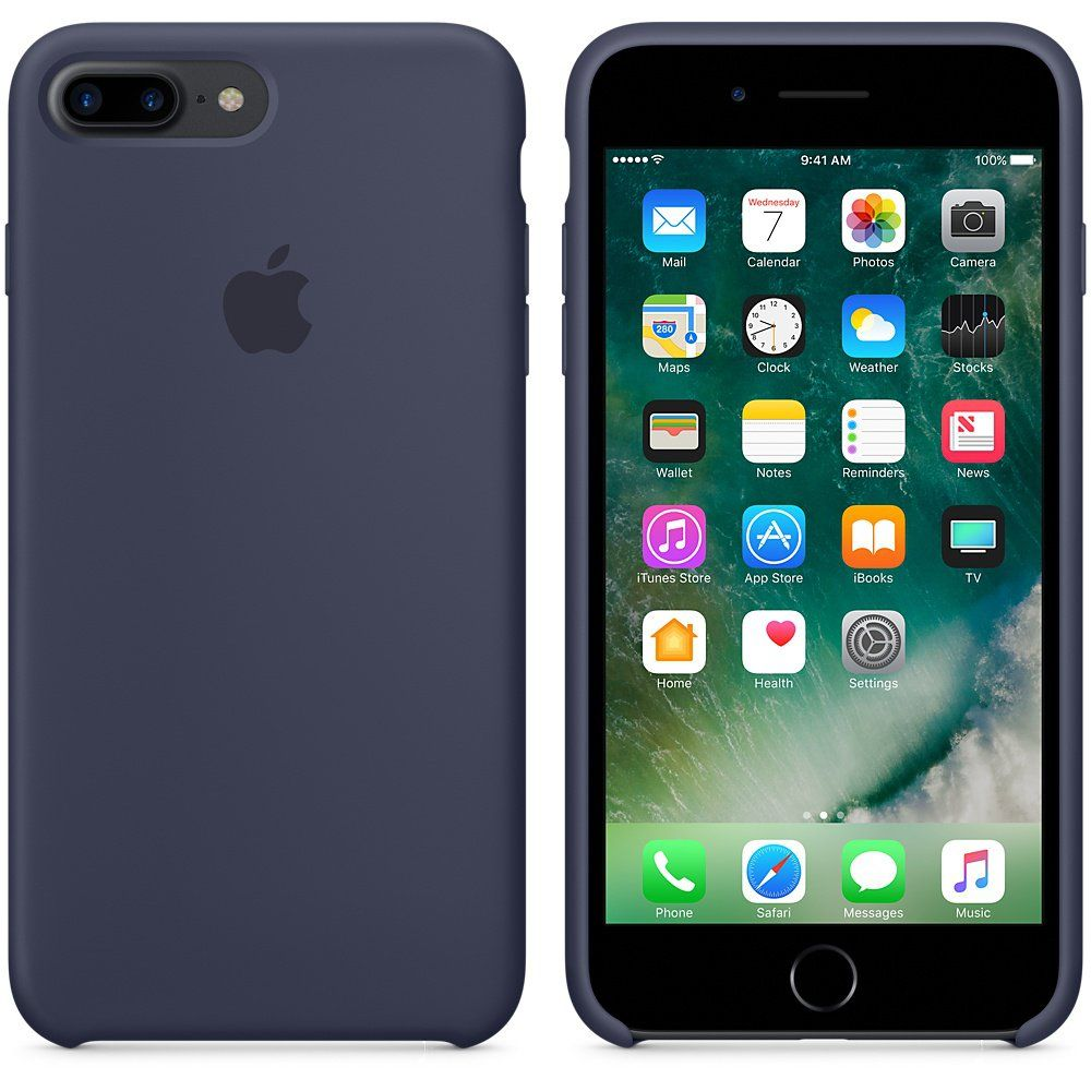 Apple iPhone 7 Plus Selicone Case Midnight Blue, картинка 2