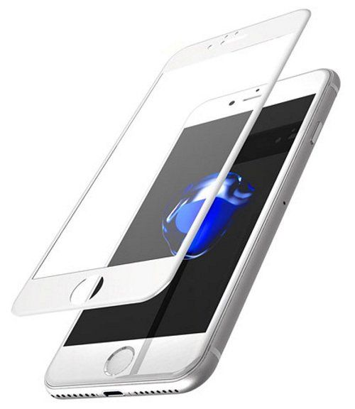 TOTU 3D Tempered Glass iPhone 7 Frosted White, картинка 1