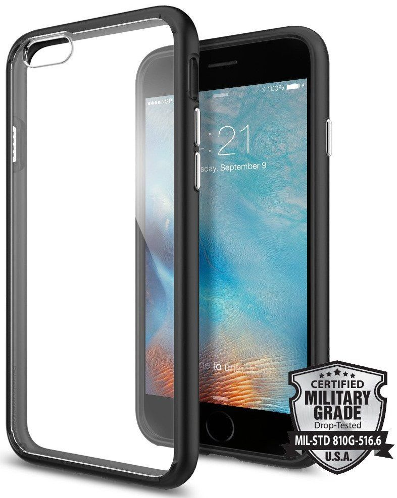SGP iPhone 6S Ultra Hybrid - Black