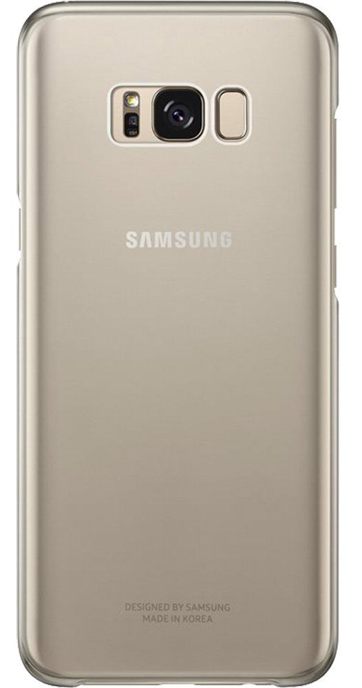 Чехол Samsung Galaxy S8+ Clear Cover - Gold