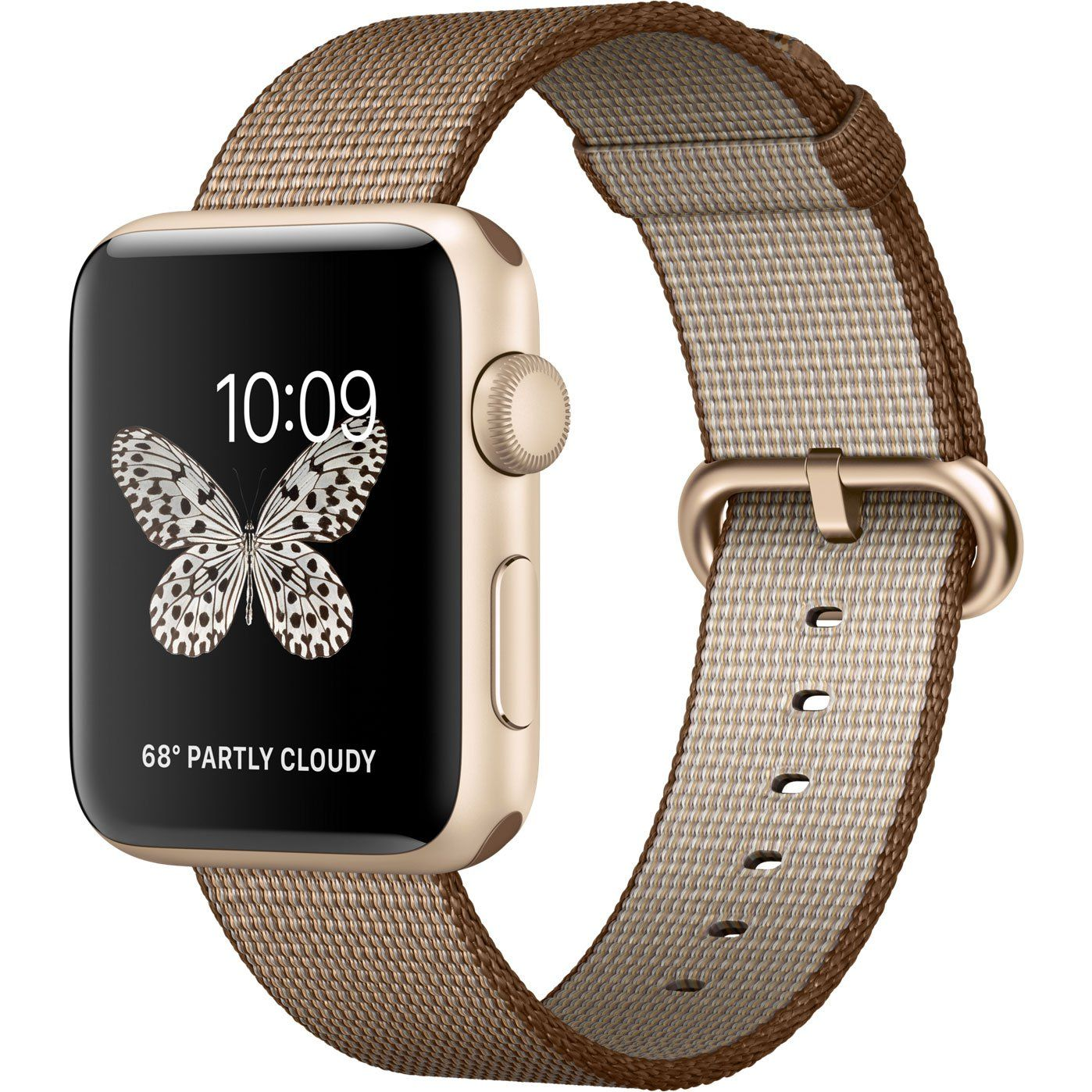 Apple Watch 42mm Toasted Coffe/Caramel Woven Nylon (MNKE2ZM/A), картинка 2