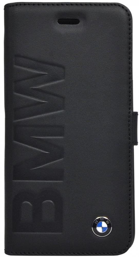 Чехол BMW iPhone 6 Logo Signature Booktype - Black