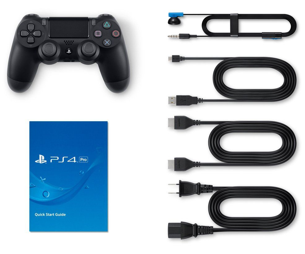 SONY PlayStation 4 Pro 1TB Black, картинка 4
