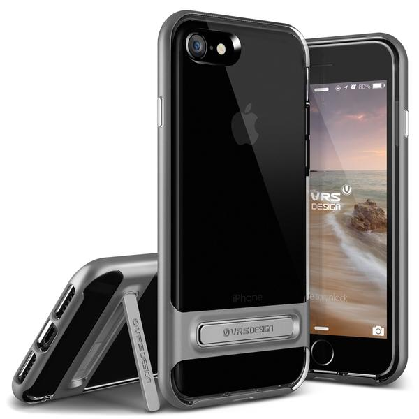 VERUS Чехол iPhone 7 Crystal Bumper Steel Silver, картинка 1