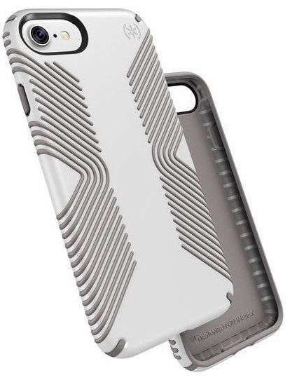 SPECK Presidio Grip iPhone 7 case - White, картинка 2