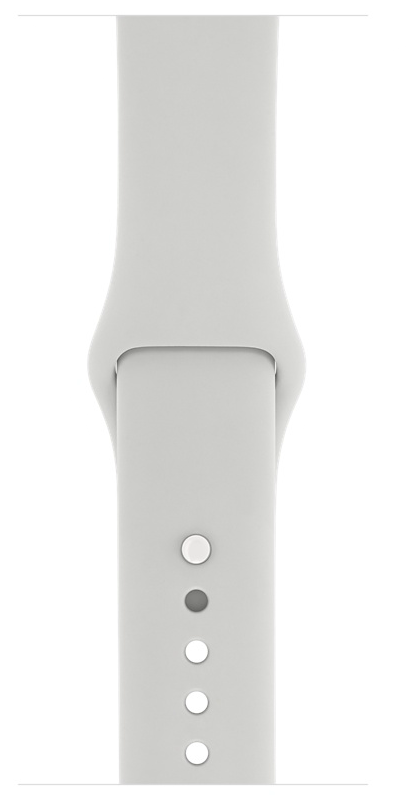 Apple Watch Edition 38mm White Ceramic/Cloud Sport Band (MNPF2), картинка 3