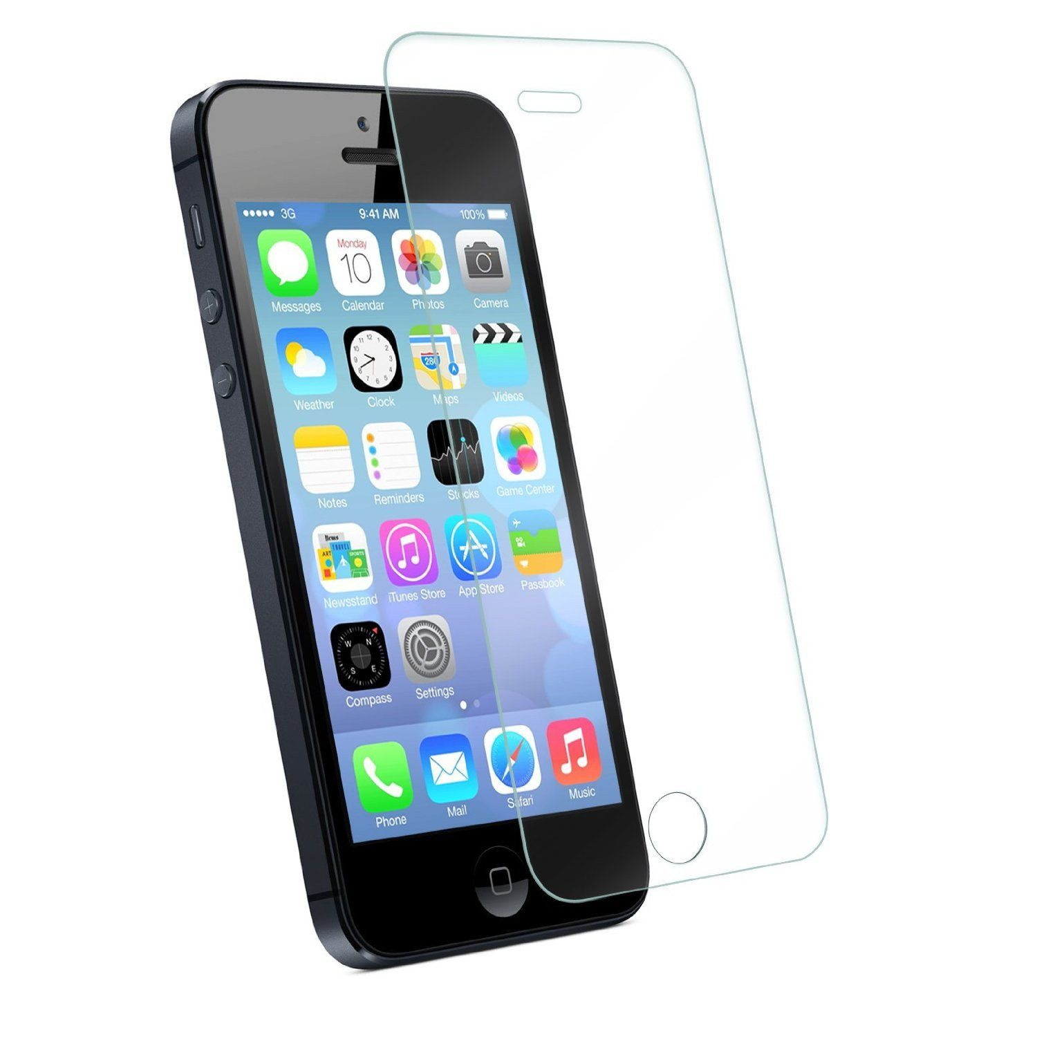 Galili Tempered Glass 5/5S Clear, картинка 1
