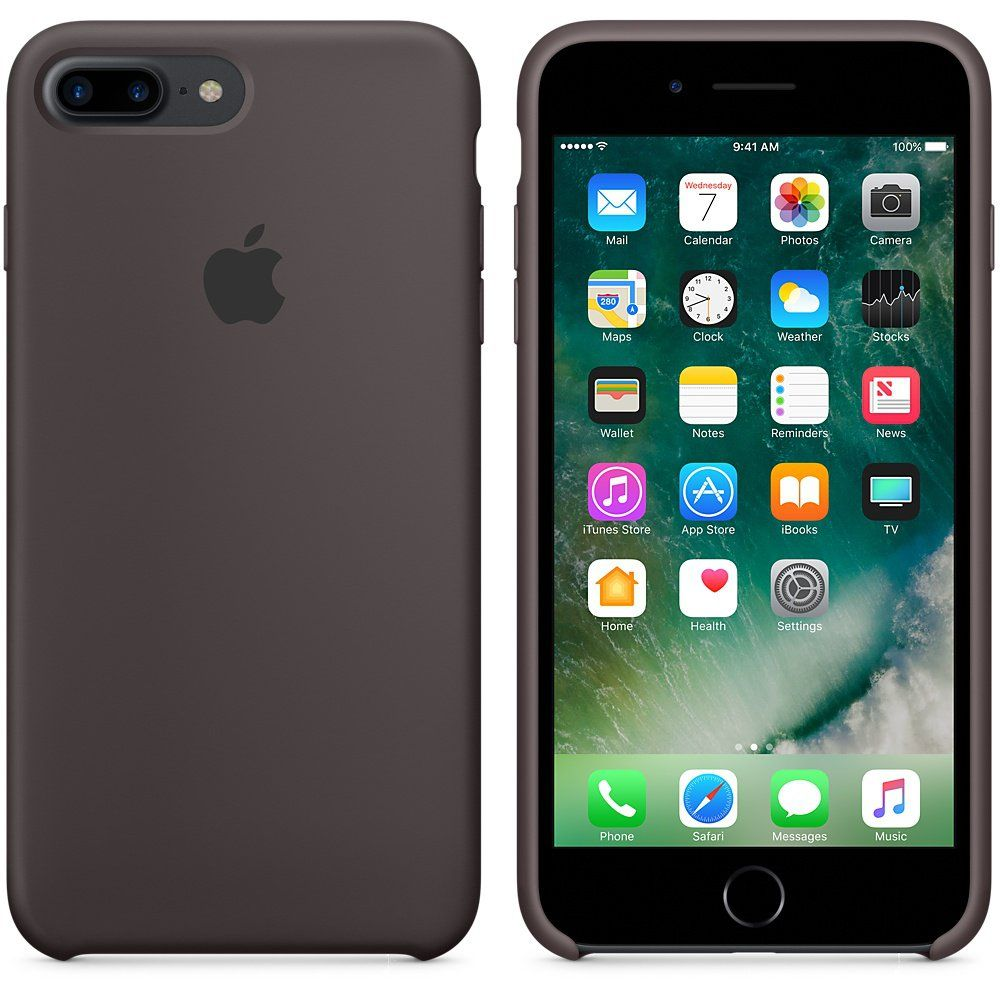 Apple iPhone 7 Plus Selicone Case Cocoa, картинка 2