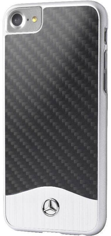 Mercedes WAVE V iPhone 7 Carbon Aluminum Hard Case Black, картинка 1