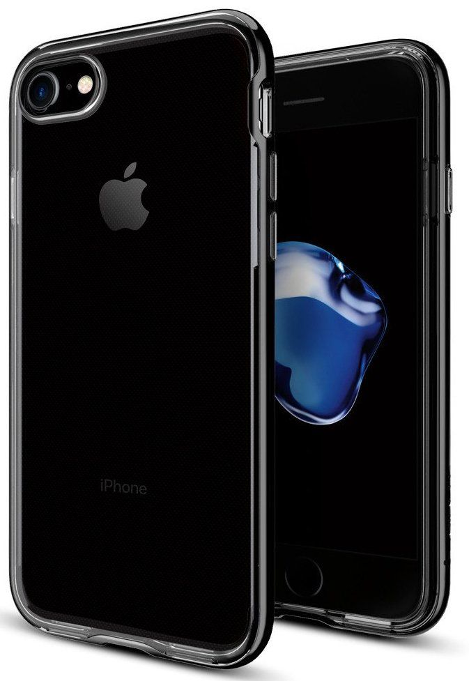 SGP Чехол iPhone 7 Neo Hybrid Crystal Jet Black