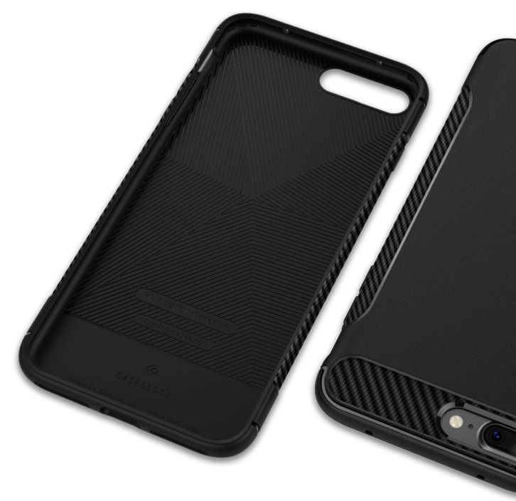 Caseology iPhone 7 Plus Vault Carbon - Black, картинка 4