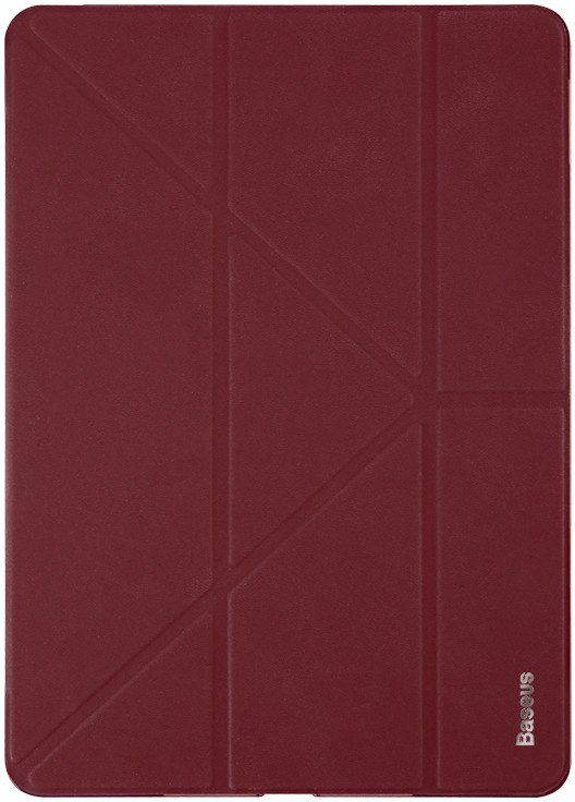BASEUS Simplism Y-Type Leather Case iPad 2017 Wine Red