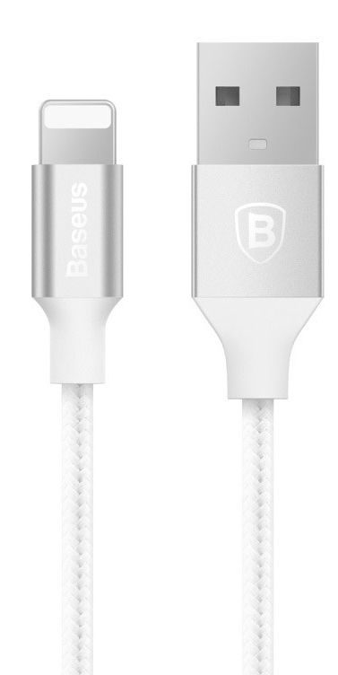 BASEUS Yashine Lightning Nylon Cable 1m - White
