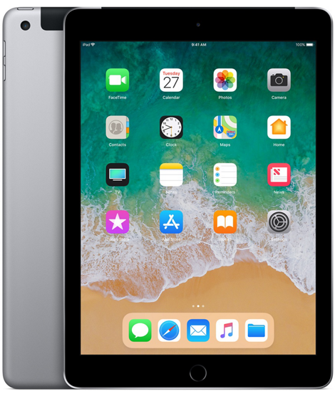 iPad 2018 128GB Wi-Fi + Cellular - Space Grаy