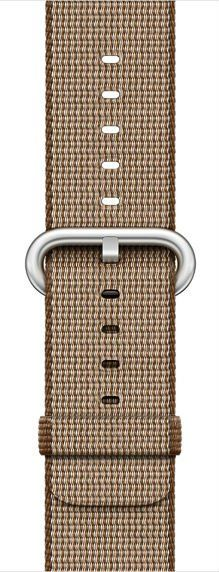 Apple Watch 42mm Toasted Coffe/Caramel Woven Nylon (MNKE2ZM/A), картинка 1