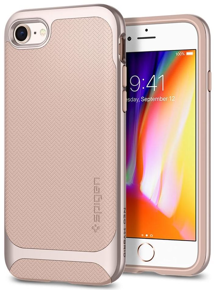 SGP Чехол iPhone 7/8 Neo Hybrid Herringbone Pale Dogwood
