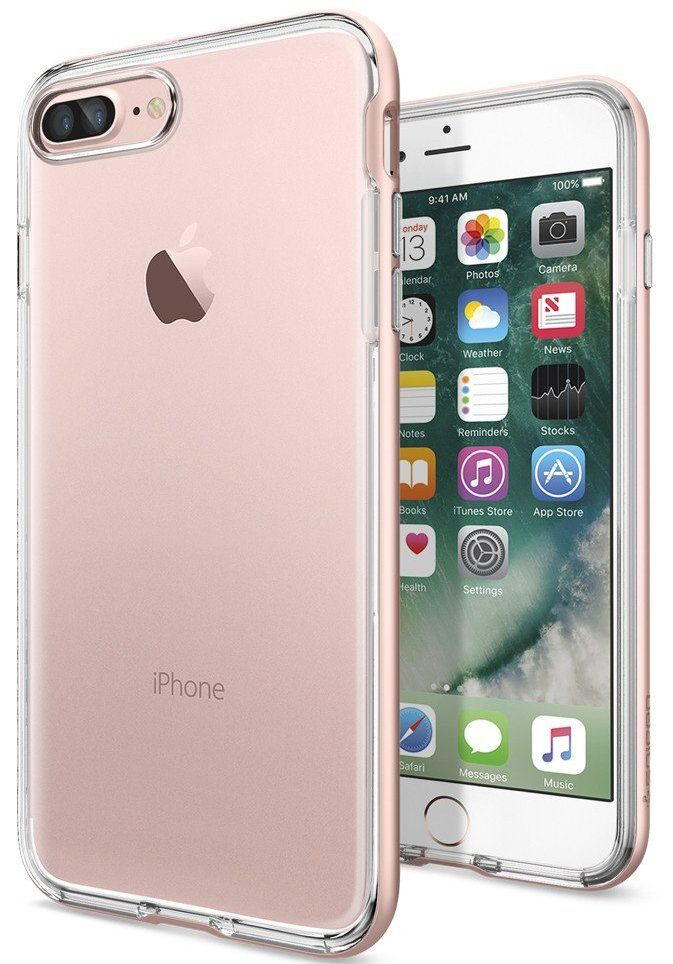 SGP Чехол iPhone 7 Plus Neo Hybrid Crystal Rose Gold