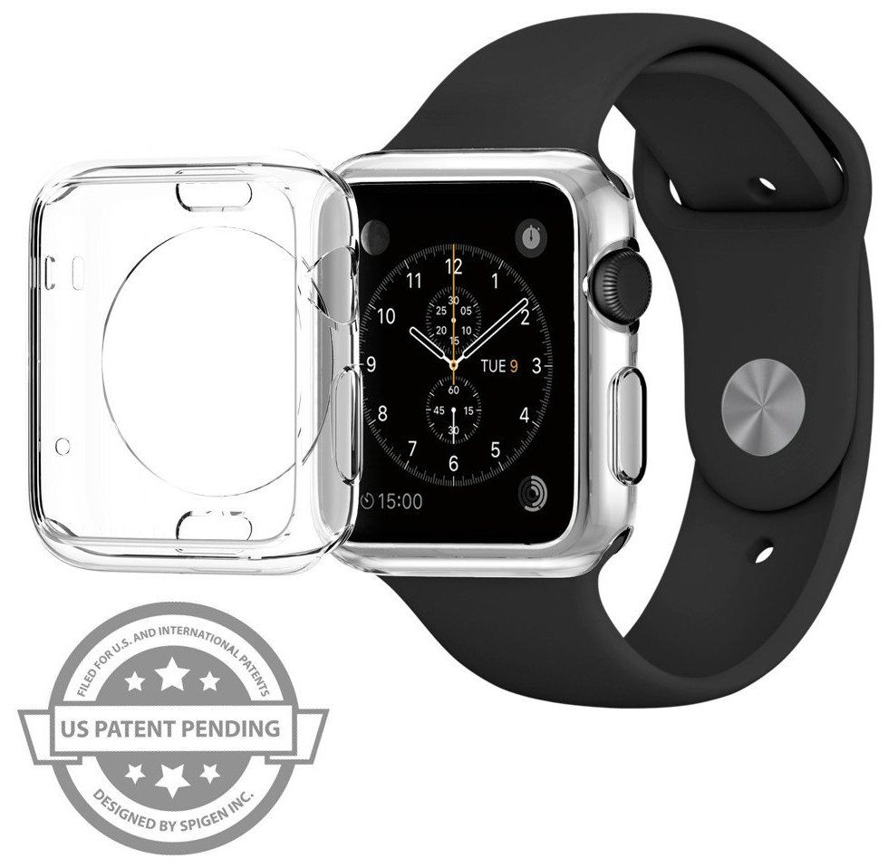 SGP Apple Watch 42mm Selicon Case Liquid - Crystal, картинка 2