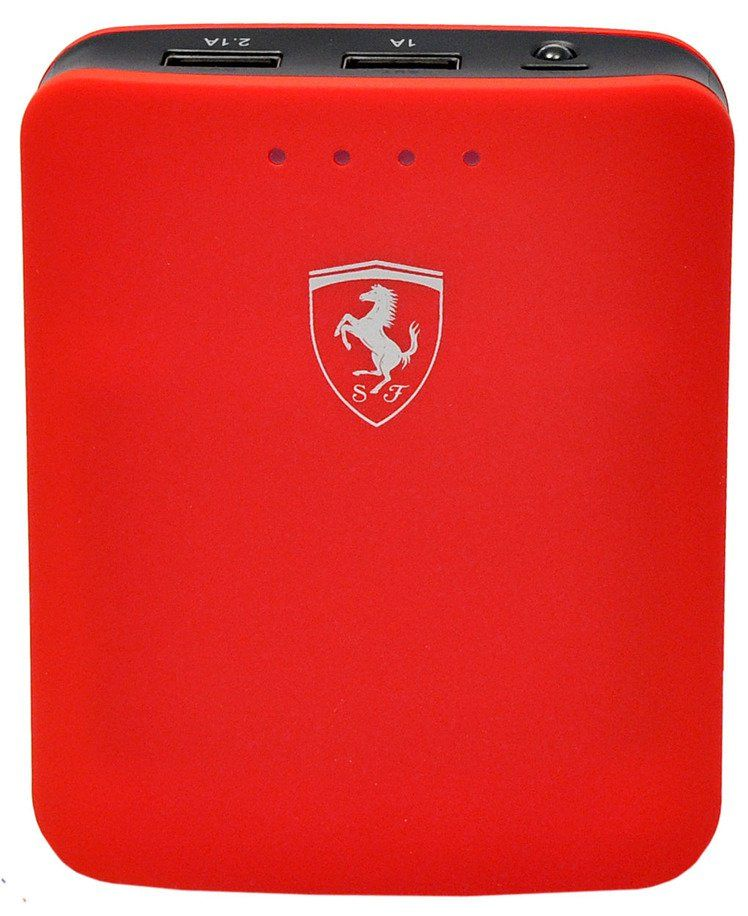 Ferrari Portable Charger 10400 mAh - Red, картинка 2