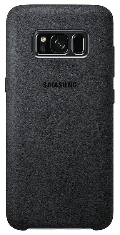 Чехол  Samsung Galaxy S8+ Alcantara Cover - Dark Gray