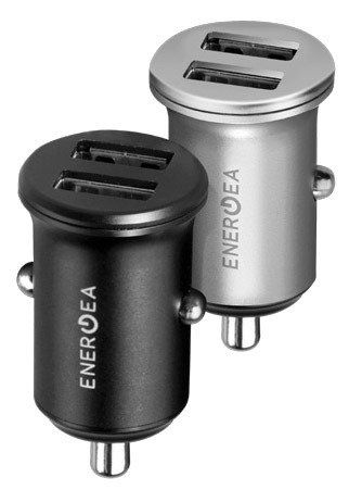 EnergEA АЗУ Mini Drive 2 USB 4.8A - Black