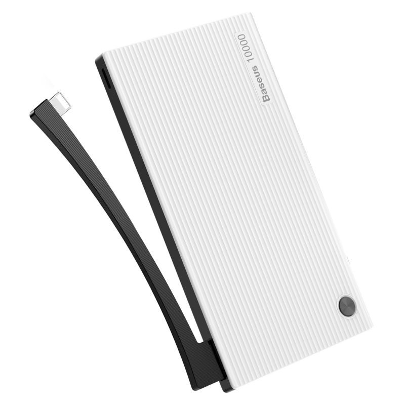 Внешний аккумулятор BASEUS Esazi Series Power Bank 10.000mah - White