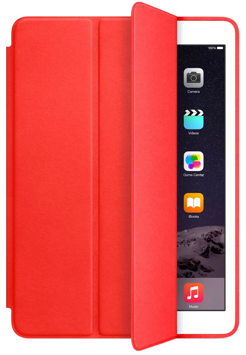 Apple iPad 2017 Smart Case - Red