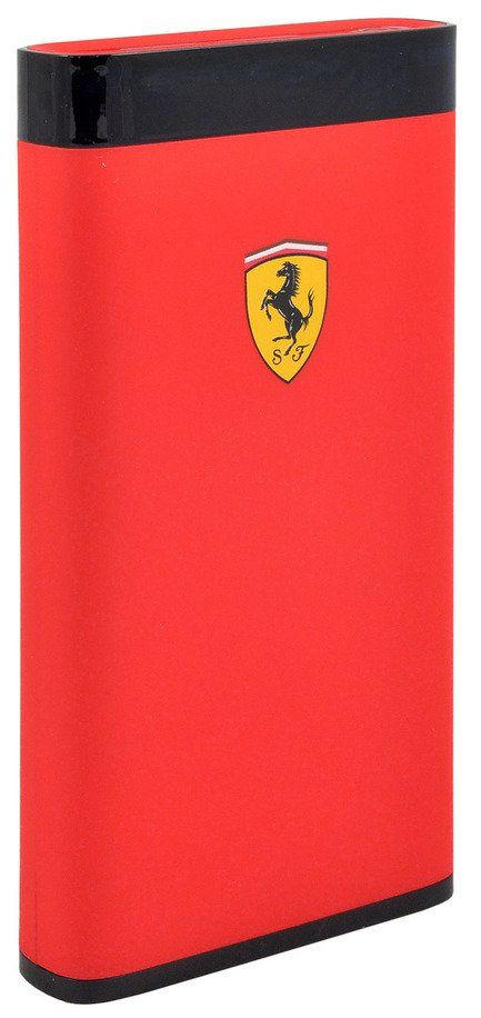 Ferrari Portable Battery Charger 12000 mAh LED - Red, картинка 2