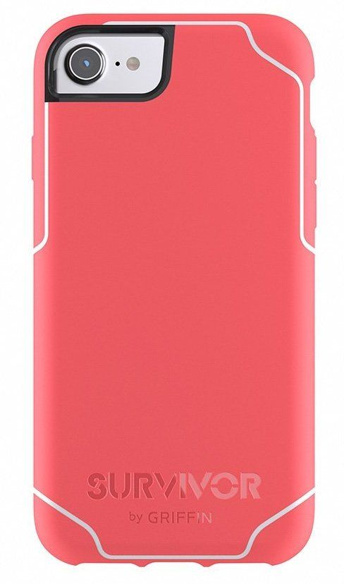 Griffin Survivor Journey case iPhone 7 - Coral, картинка 1