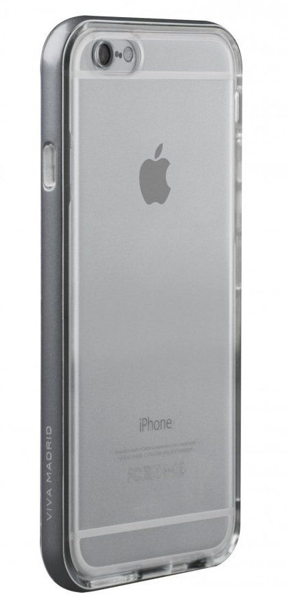 VIVA iPhone 7 Airefit Borde Case TPU Silver, картинка 3