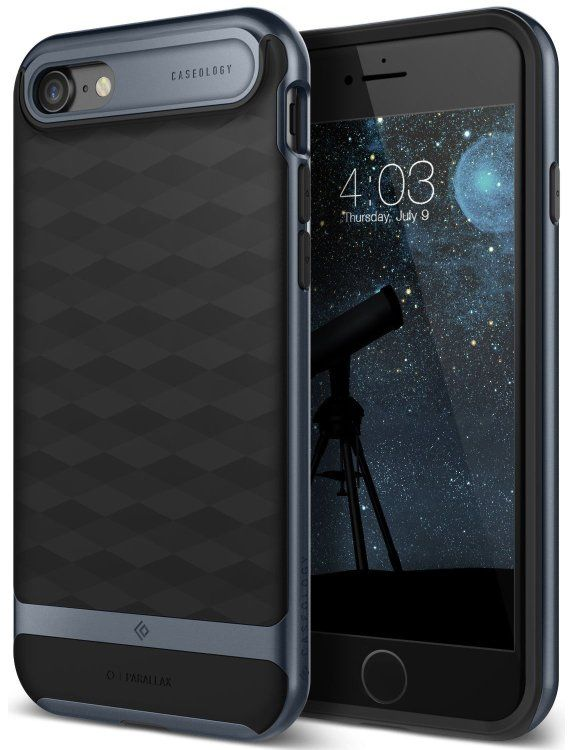 Caseology iPhone 7 Parallax - Black/Blue