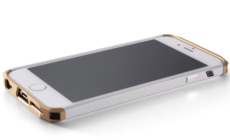 ElementCase iPhone 6 Solace w/Pouch - Gold/Gold, картинка 2