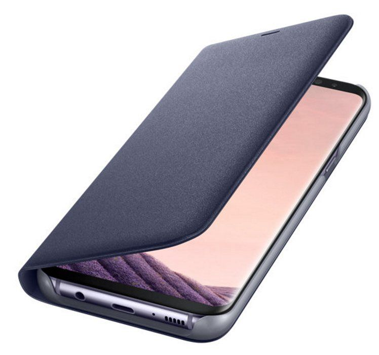 Samsung Galaxy S8+ LED View Cover - Violet, картинка 3