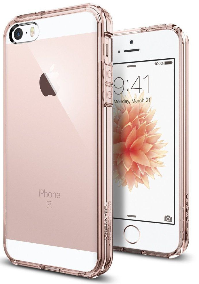 SGP  iPhone 5S/SE Ultra Hybrid - Rose Crystal