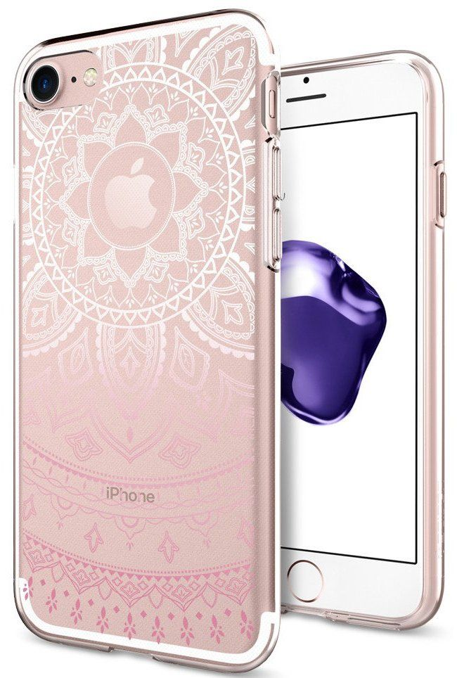 SGP Чехол iPhone 7 Liquid Crystal Shine Pink