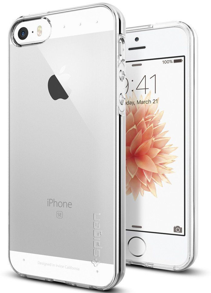 SGP  iPhone 5S/SE Liquid Armor - Crystal Clear