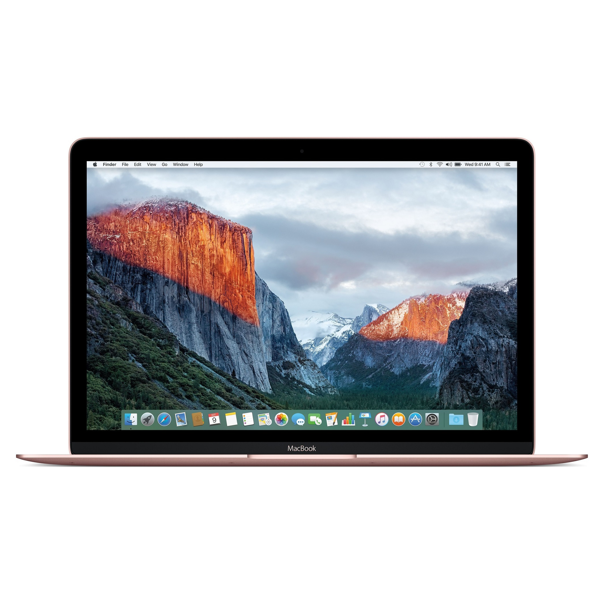 "Apple MacBook 12"" Retina 512 SSD Rose Gold (MMGM2), картинка 2"
