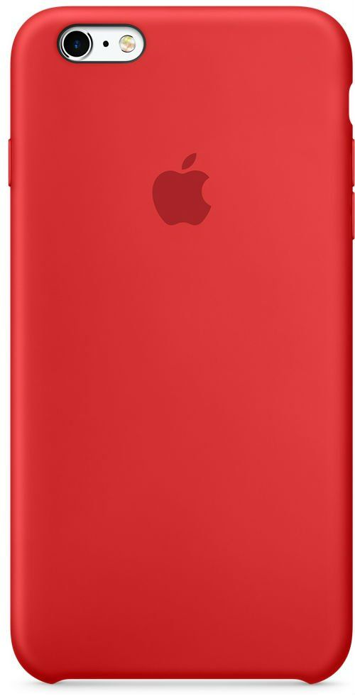 Apple iPhone 6/6S Plus Silicone Case - Red