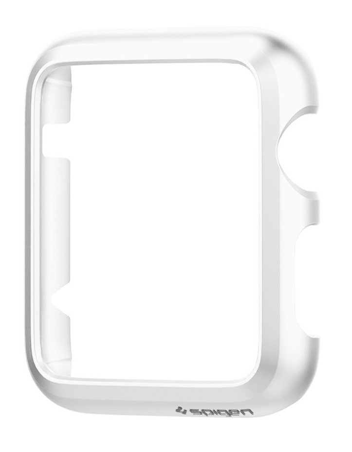 SGP Apple Watch 42mm Case Thin Fit - White, картинка 3