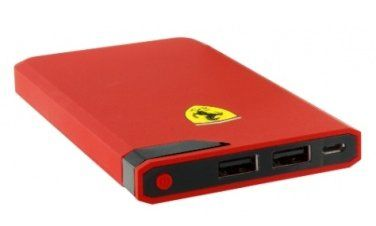Ferrari Portable Charger 10000 mAh - Red, картинка 2