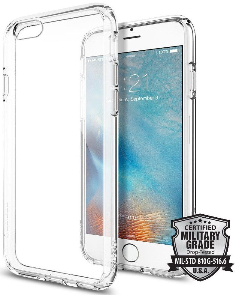 SGP iPhone 6S Ultra Hybrid - Crystal