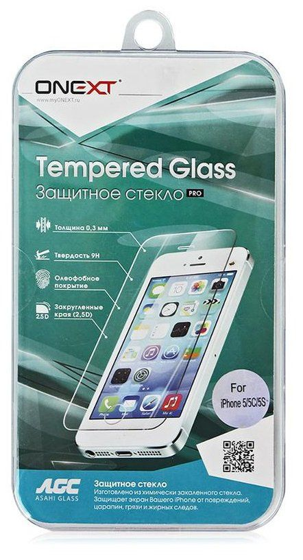 ONEXT Tempered Glass 5/5S/SE, картинка 2