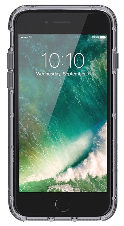 Griffin Survivor Clear case iPhone 7 - Grey, картинка 2