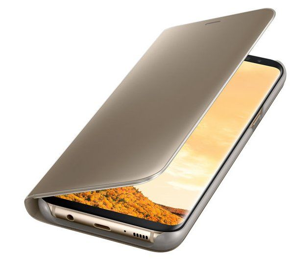 Samsung Galaxy S8+ LED View Cover - Gold, картинка 3